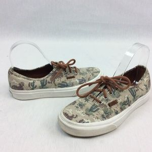 Vans Off the Wall Sneakers Tennis Shoes Cactus